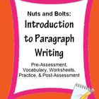 Paragraph Writing Introduction: Skill Sheets