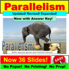 Parallelism : PowerPoint Lesson and Exercises