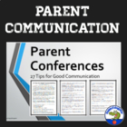 Parent Conference - 27 Tips for Good Communication