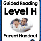 Parent Letter/ Handout: Guided Reading Meets the Common Co