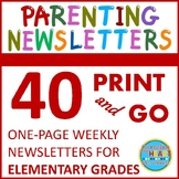 Parenting 1 2 3 Newsletters