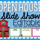 Parent Slide Show for Open House, Parent Night, or Back To