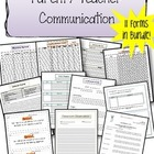 Parent Teacher Communication Bundle