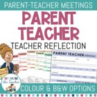 Parent Teacher Interview Sheets
