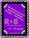 Parents as Partners - Middle School Therapy & Homework for