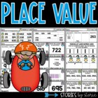 Park It (Place Value Centers, Games & Practice Pages)