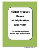 Multiplication Strategy - Partial Product Multiplication Boxes