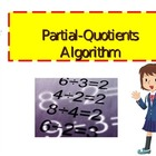 Partial Quotients Division Algorithm Tutorial PowerPoint