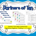 Partners of Ten Combo Pack {Common Core Connection}