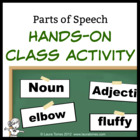 Parts of Speech Hands-on Class Activity