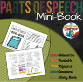 Parts of Speech Mini-Book (foldable, printable, fun-filled
