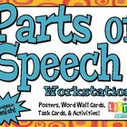Parts of Speech Posters - ENGLISH