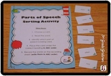 Parts of Speech Sorting Activity