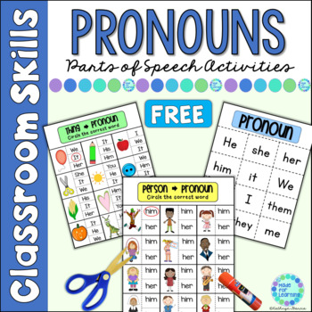 Parts of Speech for Beginners: Pronouns
