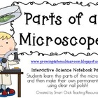 Parts of a Microscope ~ Interactive Science Notebook Pack