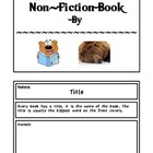 Parts of a Non-fiction Text