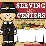 Party Like a Pilgrim {November Literacy & Math Centers for