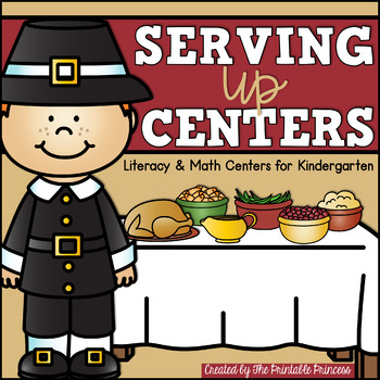 Party Like a Pilgrim {November Literacy & Math Centers for Kindergarten}