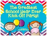 Party Printables for the Greatest School Year Ever! {Cutie