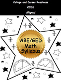 2014 GED Math Test Topics