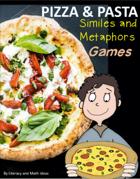 Pasta Party Similes and Metaphors Literacy Center Games