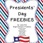 Patriotic Presidents' Day FREEBIE