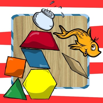 Pattern Block Puzzles - Dr. Seuss / Read Across America!