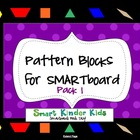 Pattern Blocks for SMARTboard - Pack#1