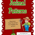 Pattern Cards: Farm Theme
