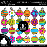 Patterned Ornaments 3 {Graphics for Commercial Use}