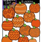 Patterned Pumpkins {Creative Clips Digital Clipart}