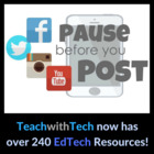 Sharing Information Online Lesson - Pause Before You Post