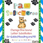 Paw Switcheroo: Change One Sound Letter Substitution for G