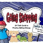 Pawleys Pet Place- Making Change Task Cards and Scoot