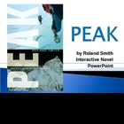 """Peak"", by Roland Smith, Interactive Novel PowerPoint"