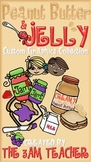 Peanut Butter & Jelly Custom Clip Art