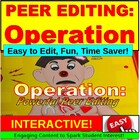 Peer Editing: Writing PowerPoint