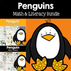 Penguin Center Fun- Math and Literacy Bundled Common Core