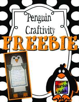 Penguin Craftivity (S.Malek Freebie)