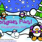 Penguin Fun! Kindergarten Unit - Common Core Aligned