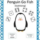 Penguin Go Fish: Subitizing (Grades K and 1)