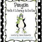 Penguin Math & Literacy Activities