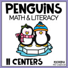 Penguin Math & Literacy Work Stations