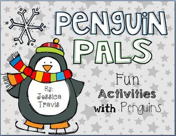 Penguin Pals {Free & Fun Penguin Activities}