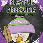Penguin Place Value Math Game - Math Center or Math Workstation