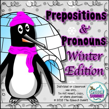 Penguin Prepositions & Pronouns