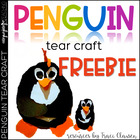 Penguin Tear Craftivity FREEBIE