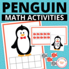 Penguin Ten Frame Match: Winter Math Fun for Preschool and