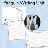Penguin Unit for PreK to 2nd Grade Students