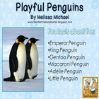 Penguin Writing Freebie ~ Read and write about 6 species o